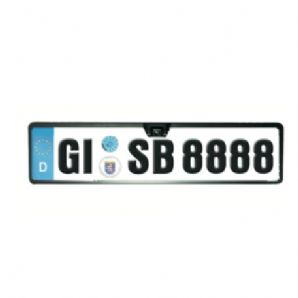 Number Plate Holder Frame Colour Camera LED Night Vision MA001